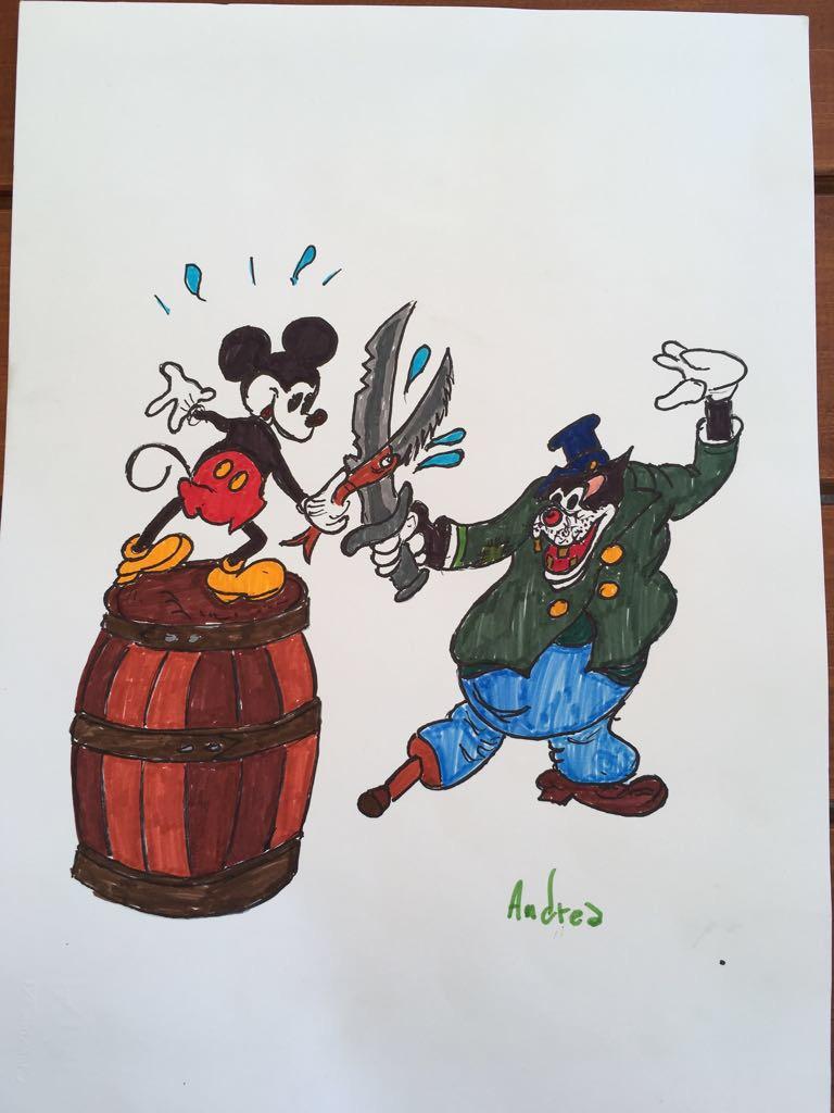 disegno colorato dai bambini
